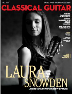 Article in Classical Guitar Magazine